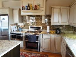 Painting Kitchen Cabinets Antique White Affordable Antique White Kitchen Cabinets With Stainless Steel