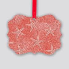coral ornaments cafepress