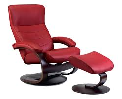 luxury red leather recliner chair about remodel mid century modern