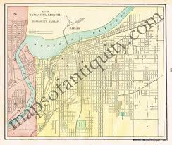 Map Of Pennsylvania Cities by Map Of Kansas City Missouri And Kansas City Kansas Verso St