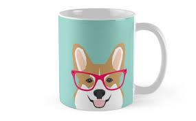 teagan glasses corgi cute puppy welsh corgi gifts for dog lovers