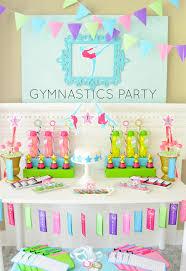 Birthday Decoration Ideas For Kids At Home Throw A 10 0 Gymnastics Birthday Party Gymnastics Center
