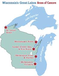 Wisconsin Lake Maps by Past Events And Programs U2013 Wisconsin U0027s Great Lakes Areas Of Concern