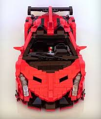lego lamborghini car veneno the lego car