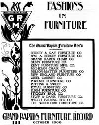 Office Furniture In Grand Rapids Mi by A Trip Through Time Grand Rapids Furniture Historymcclure Tables