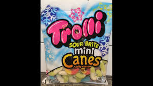trolli sour brite mini canes jelly canes review