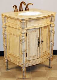 26 Inch Vanity For Bathroom 26 Inch Largo Vanity French Country Style French Style Vanity