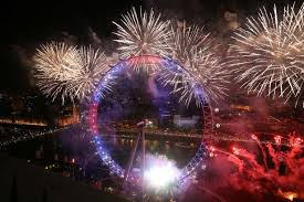 new year s 2015 see how 2016 was welcomed in the uk and