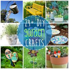Diy Craft Projects For The Yard And Garden - diy garden crafts 24 beautiful garden crafts for every age