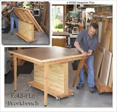 Woodworking Bench Top Plans by Diy Plans Flip Top Work Bench Plans