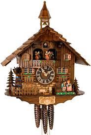 German Clocks Black Forest Imports Inc Clocks Cuckoo Clocks 1 Day Chalet