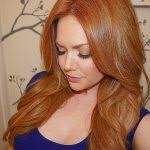 how to put red hair in on the dide with 27 pieceyoutube red hair how to put red highlights in dark brown hair