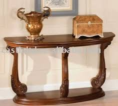 antique half moon table carved console show table sofa table half moon table buy