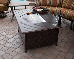 rectangle propane fire pit table coffee table important parts of rectangular fire pit table roy home