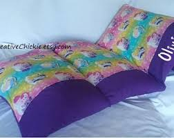 pillow bed for kids kids pillow bed etsy