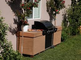 Barbecue Cabinets Outdoor Kitchen Doors Pictures Tips Expert Ideas Hgtv