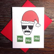 breaking bad heisenberg u0027ho ho ho u0027 christmas card walyou