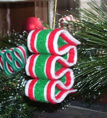 busylittlechristmaself felt christmas candy ornaments
