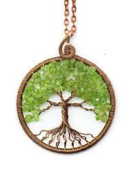 pendant wire necklace images Tree of life necklace pendant tree of life jewelry family tree jpg