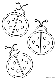 printable ladybug coloring pages coloring