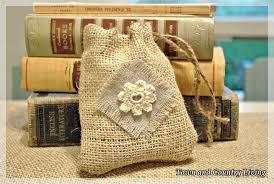 burlap gift bags how to make burlap bags town country living