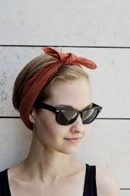 how to wear bandanas with bob hairstyles 5 cute hair accessories for short hair short hair hair