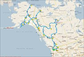 Hoonah Alaska Map by Alaska Road Trip Map Afputra Com