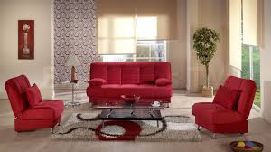 homelegance talbot 2 piece living room set in red leather beyond