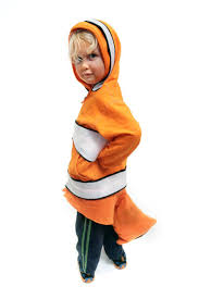 Nemo Halloween Costume Toddler Sew Finding Nemo Clownfish Costume 8 Steps Pictures