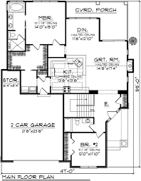 apartments house plans with garage three bedroom house plans