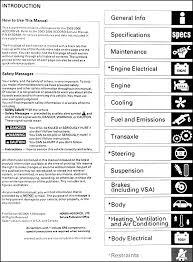 2004 honda accord owners manual pdf 2003 2006 honda accord v6 repair shop manual supplement original