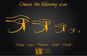 eye of horus right eye gods symbol of protection and