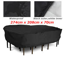 Patio Table Cover Rectangle by Online Get Cheap Large Outdoor Tables Aliexpress Com Alibaba Group
