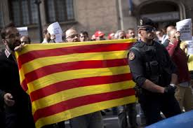 barcelona condemns acts against catalonia independence vote ap