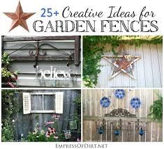 Garden Ideas For Dogs Fence Garden Ideas Creative Ideas For Garden Fences Garden Fence