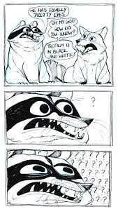 32 darkly humorous comics about raccoons that are actually about