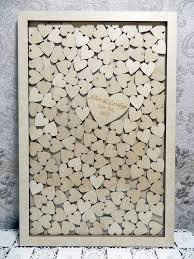 Wedding Wishes Envelope Guest Book Large Drop Box Style Wedding Guest Book Guest Book Of The Wood