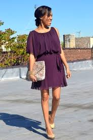 what color shoes with dark purple dress style guru fashion