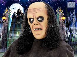 old man mask for halloween scary undertaker old man mask with black wig hair halloween fancy