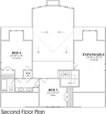 Expandable Floor Plans Contemporary Style House Plan 4 Beds 3 50 Baths 2444 Sq Ft Plan