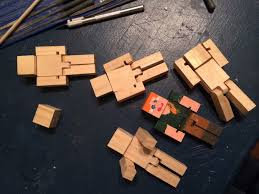 how to make wooden minecraft toys 8 steps with pictures
