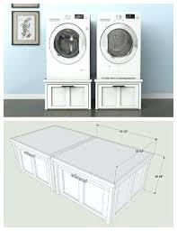 Frigidaire Washer Dryer Pedestal Frigidaire Affinity Washer Dryer Pedestals Washer Dryer Pedestals