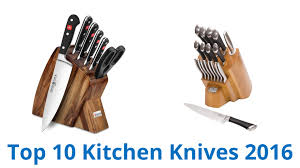 Top Ten Kitchen Knives 10 Best Kitchen Knives 2016 Youtube