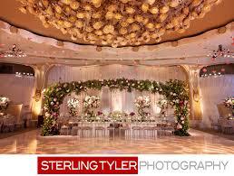 crystal ballroom marks garden wedding reception decor featured