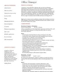Business Office Manager Resume Download Resume For Office Manager Haadyaooverbayresort Com