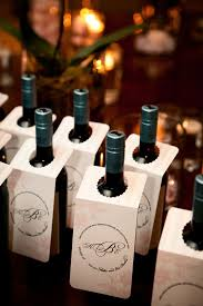 wine bottle favors 7 wine wedding favors we