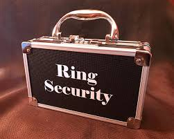 ring security wedding ring security ring bearer box for wedding ring security