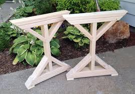 chunky wood table legs farmhouse table legs weliketheworld com