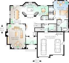 Floor Plan Modern House 108 Best House Plan Images On Pinterest Architecture Models