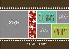 christmas photo card templates photoshop best u0026 professional